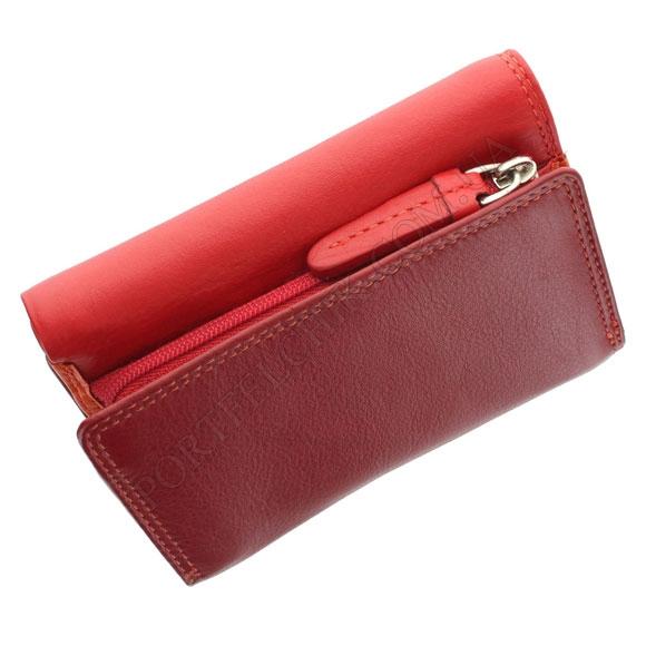 Жіночий гаманець Visconti RB-39 Red червоний, комбінований