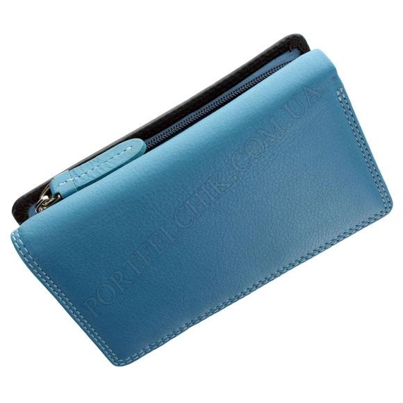 Шкіряний жіночий гаманець Visconti RB-43 Blue