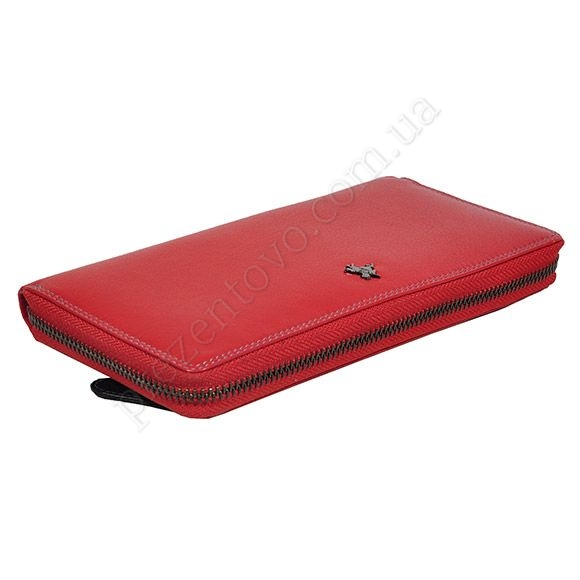 Жіночий гаманець Visconti SP-33 Crim червоний, комбінований
