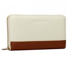 Жіночий бежевий гаманець Smith & Canova 26800 CREAM-TAN