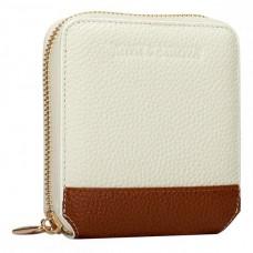 Жіночий бежевий гаманець Smith & Canova 26803 CREAM-TAN