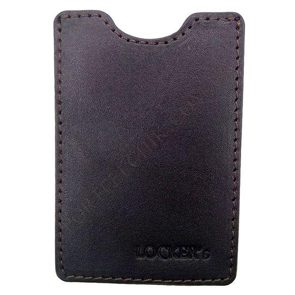 Кредитниця Locker Card Brown коричневий