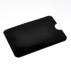Кредитница Locker з RFID захистом PayPass чорна