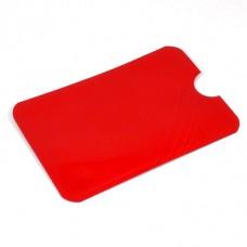 Кредитница Locker з RFID захистом PayPass червона