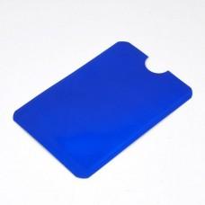 Кредитница Locker з RFID захистом PayPass синя