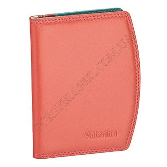 Кредитниця Valentini 123-667-9 рожевий, комбінований
