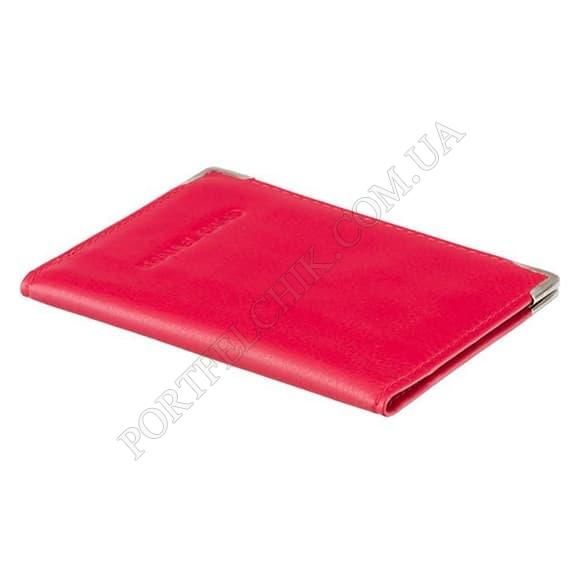 Обложка на id паспорт Visconti TC-5 Red красный