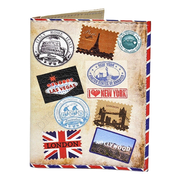Обложка на id паспорт ТМ Passporty D-07 принт