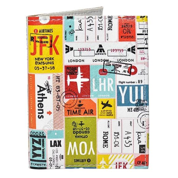 Обложка на id паспорт ТМ Passporty D-51 принт