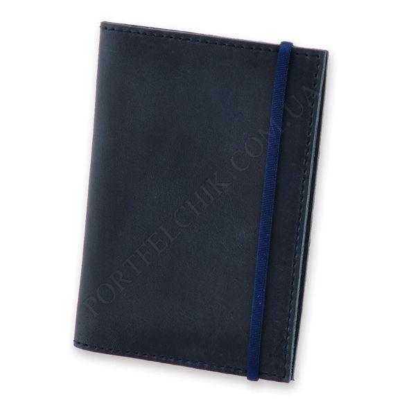 Обкладинка на паспорт BlankNote BN-OP-1-NN Crazy Horse синій