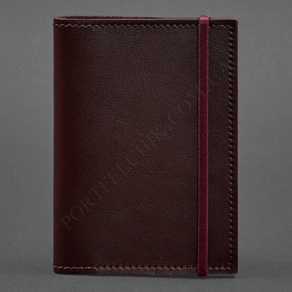 Обложка на паспорт BlankNote BN-OP-1-Vin бордовый