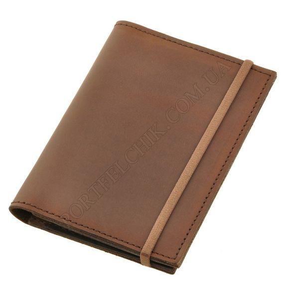 Обложка на паспорт BlankNote BN-OP-2-O Crazy Horse коричневый