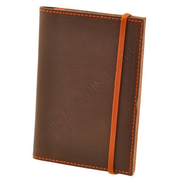 Обложка на паспорт BlankNote BN-OP-2-OA Crazy Horse коричневый