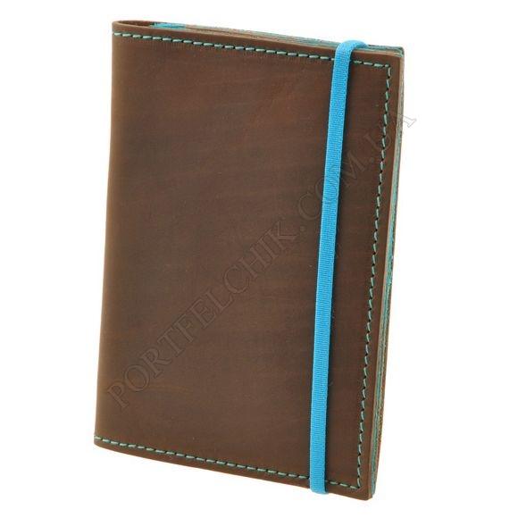 Обложка на паспорт BlankNote BN-OP-2-OT Crazy Horse коричневый