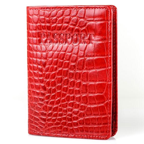 Обкладинка на паспорт Tacchini A 805 DRE червоний