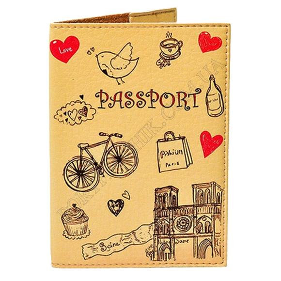 Обложка на паспорт TM Passporty 16 принт