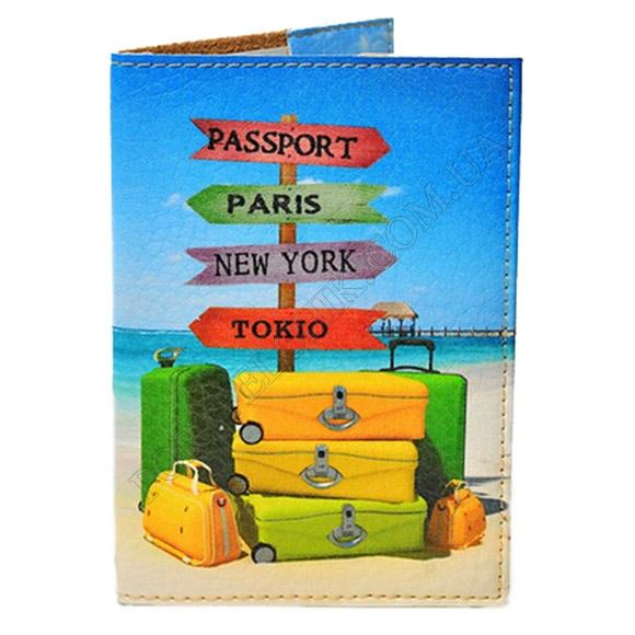 Обкладинка на паспорт TM Passporty 26 принт