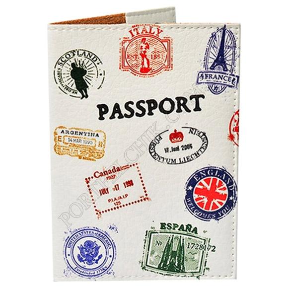 Обкладинка на паспорт TM Passporty 30 принт