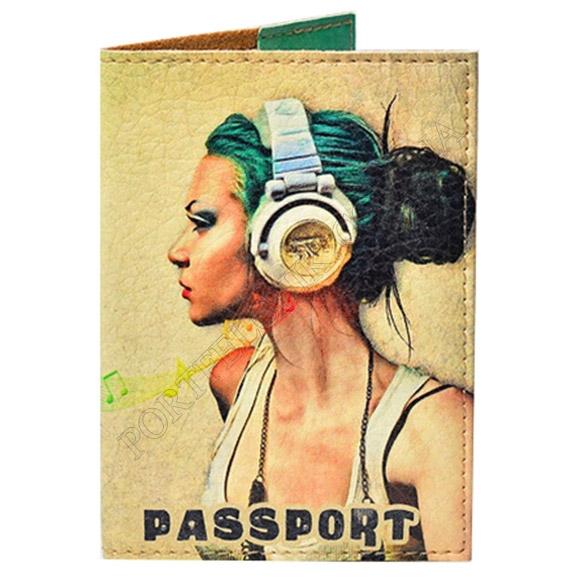Обложка на паспорт TM Passporty 35 принт