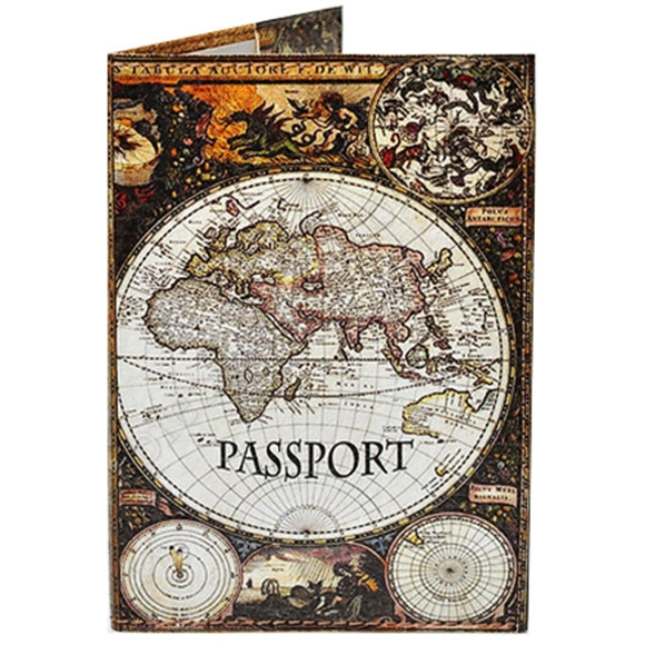 Обкладинка на паспорт TM Passporty 40 принт