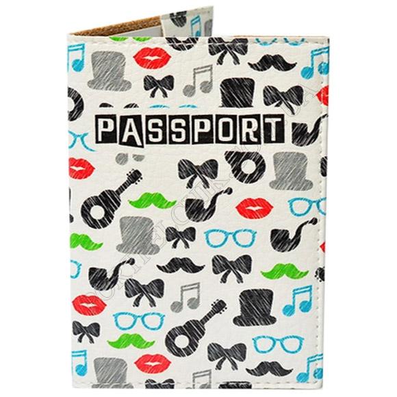 Обложка на паспорт TM Passporty 53 принт