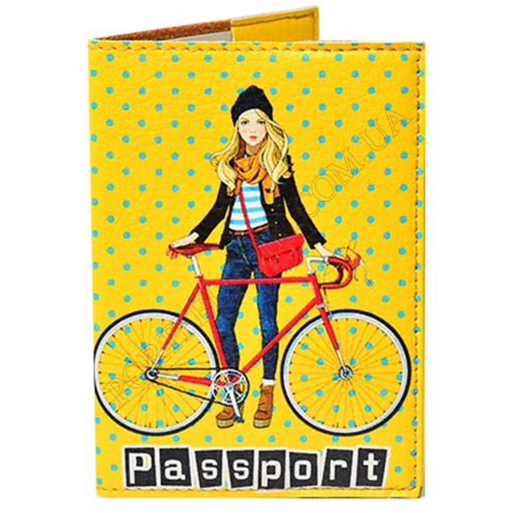 Обложка на паспорт TM Passporty 54 принт