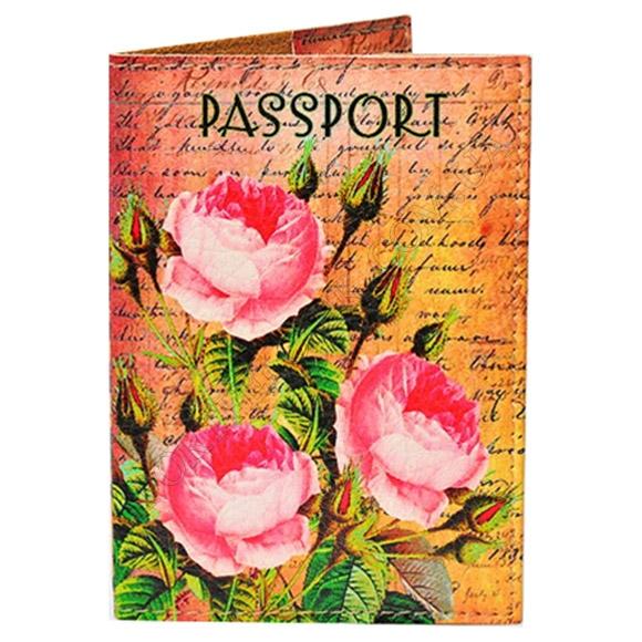 Обложка на паспорт TM Passporty 92 принт