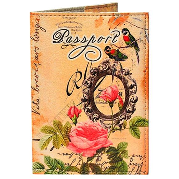 Обложка на паспорт TM Passporty 93 принт