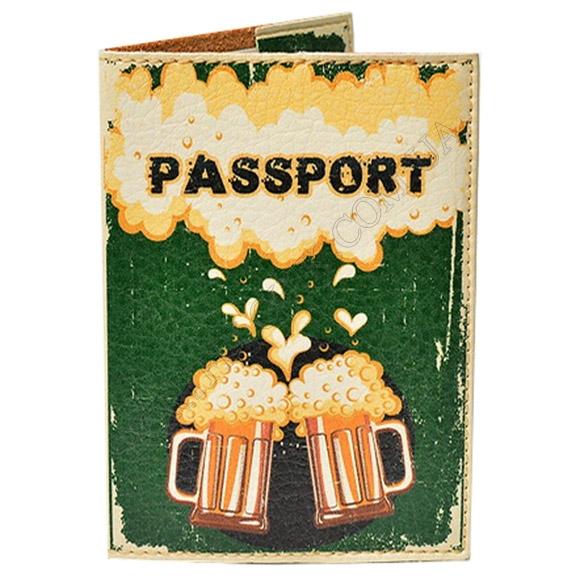Обкладинка на паспорт TM Passporty 94 принт