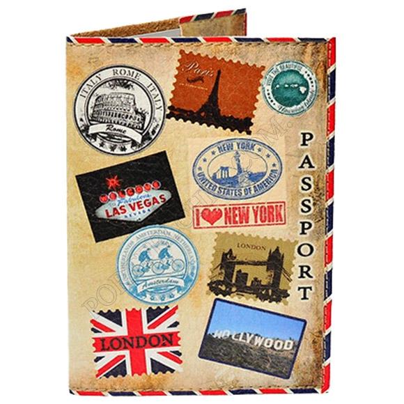 Обложка на паспорт TM Passporty 96 принт