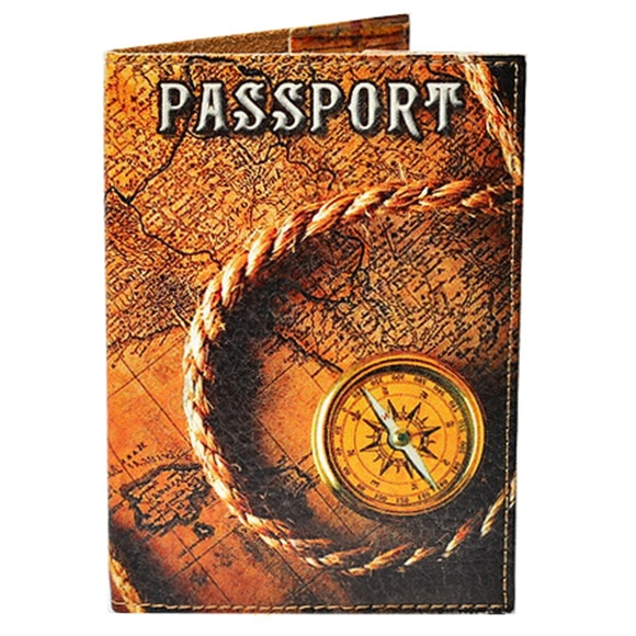 Обложка на паспорт TM Passporty 98 принт