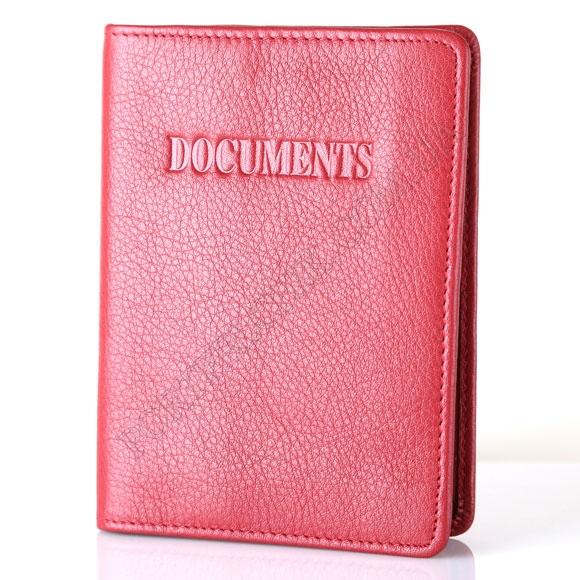 Обкладинка для паспорта та авто документів Tacchini NP 552 RE червоний