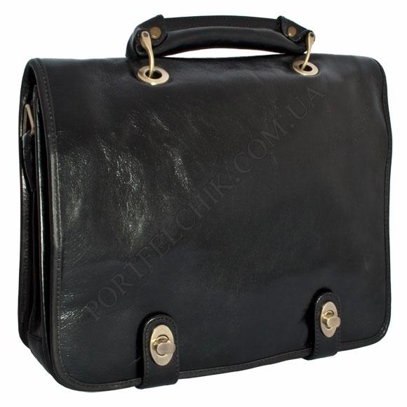 Портфель кожаный Gufo D 30612 BL