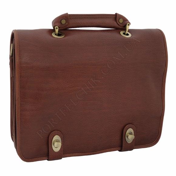Портфель кожаный Gufo PB 9395 WH