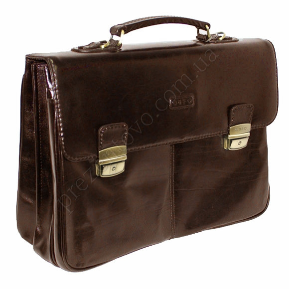 Портфель кожаный Gufo D 3591 BR