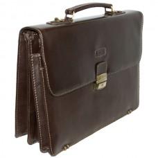 Портфель кожаный Gufo D 3634 BR