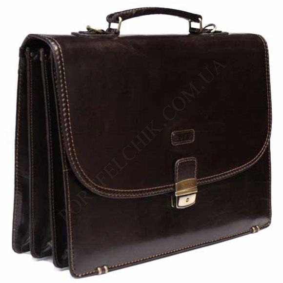 Портфель кожаный Gufo D 5249 A BR