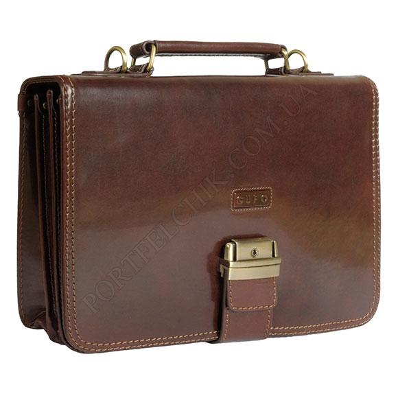 Портфель кожаный Gufo D 5252 A BR
