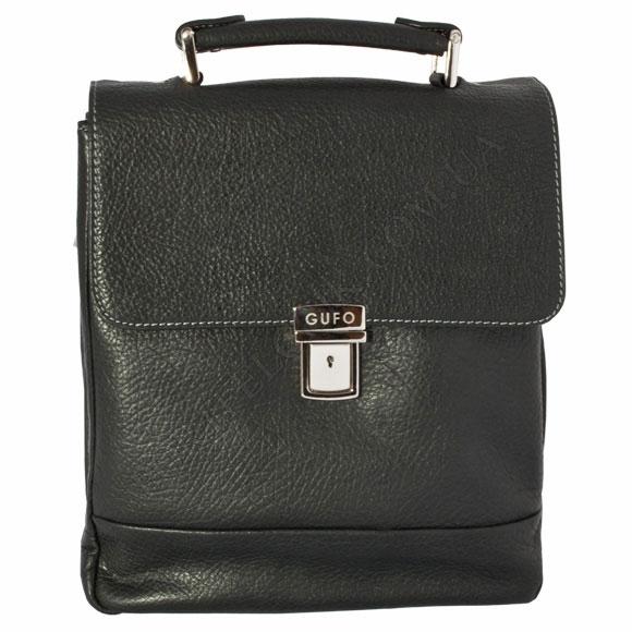 Портфель кожаный Gufo PB 0005 A TK BL