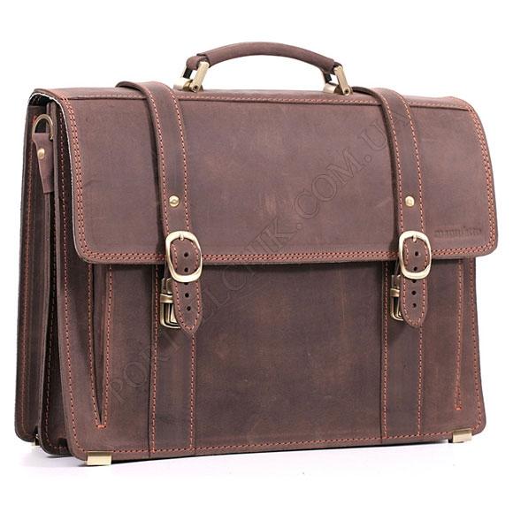 Портфель Manufatto РВМ-3 Crazy Horse Brown коричневый