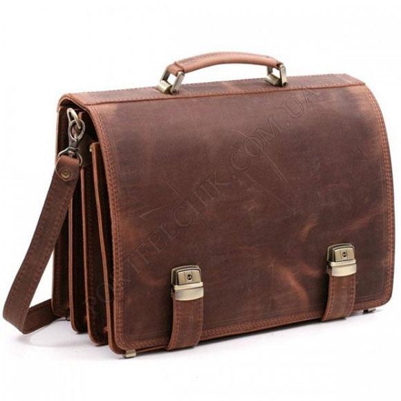 Портфель Manufatto ТМ-1 Crazy Horse Brown коричневый