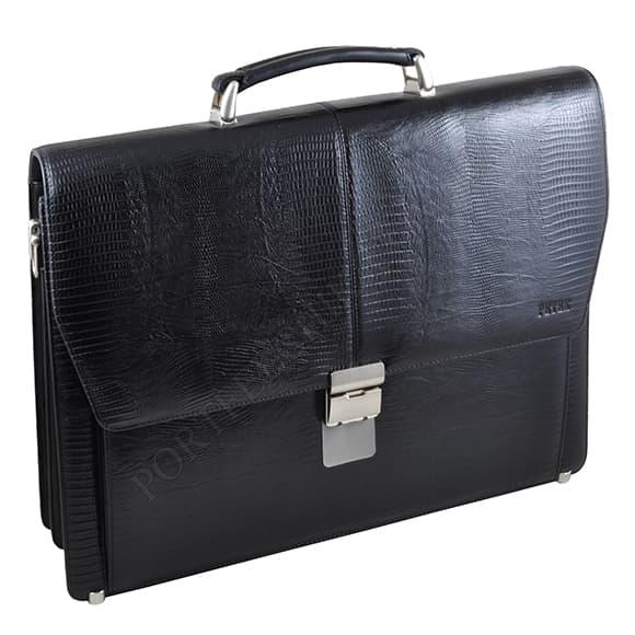 Портфель Petek 799-041-01 чорний