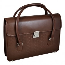 Сумка портфель кожаная Petek 828-4000-004
