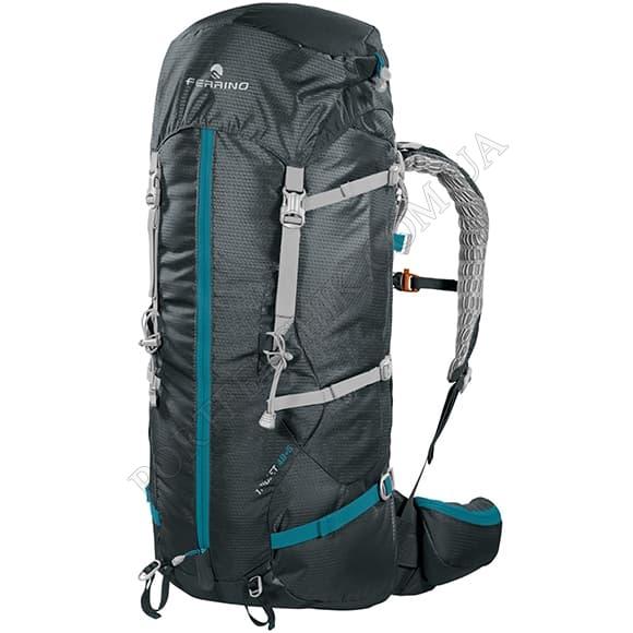 Туристичний рюкзак Ferrino Triolet 48+5 Black (75661LCC) чорний