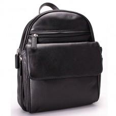 Рюкзак кожаный Visconti 01433 BL