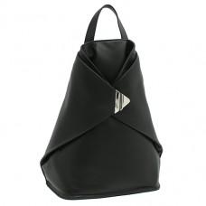 Рюкзак кожаный Visconti 18258 BLK