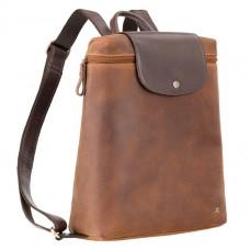 Рюкзак кожаный Visconti TC-86 TAN-MLN
