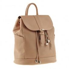 Женский кожаный рюкзак BlankNote BN-BAG-13-Crem-Brule