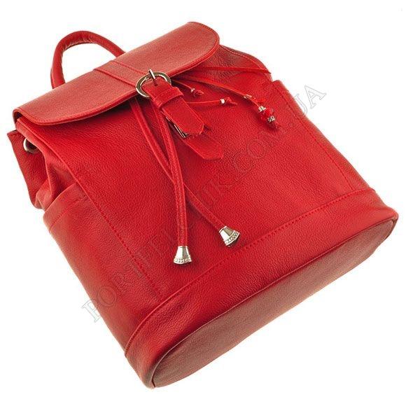 8a869352c573 Женский кожаный рюкзак BlankNote BN-BAG-13-Rubin картинка изображение 4
