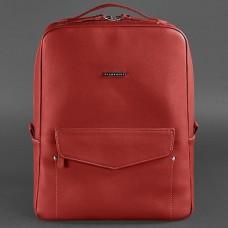 Жіночий шкіряний рюкзак BlankNote BN-BAG-19-red